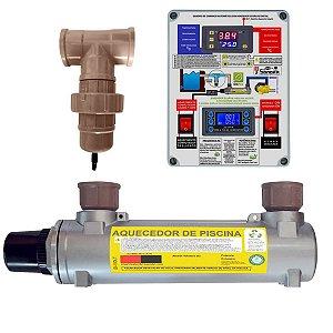 Aquecedor de Piscinas Hidrohot Ionizador 80m³ até 80.000Lts