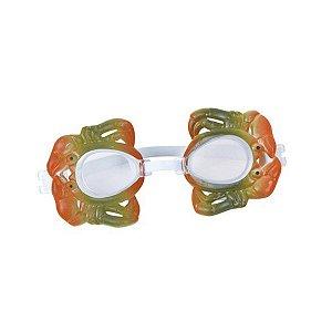 Óculos De Natação Sodramar Modelo Caranguejo Em Estojo