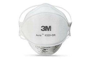 Respirador Descartável 3M Aura 9320+BR  PFF2
