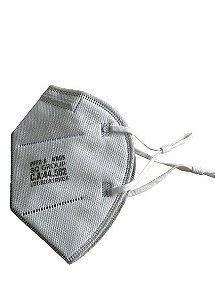 Respirador Descartável KN95 PFF2-S PACOTE COM 2 UNIDADES