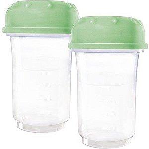 Frascos para coleta de leite materno 150ml Savemilk 2 Unid