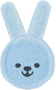 MAM Oral Care Rabbit - Luva de cuidado oral Azul