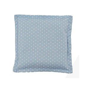 Bebê Sem Cólica Almofada Térmica de Sementes Poá Azul