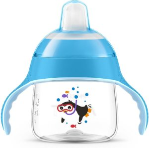 Philips Avent Copo Pinguim 200ml Azul +6 Meses