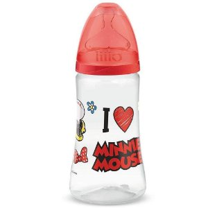Lillo Mamadeira Design Disney Silicone - 300 ml +6 Meses