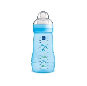 MAM Easy Active Mamadeira Azul  - 270ml +2Meses