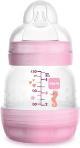 MAM Easy Start Rosa - 130ml +0 Meses