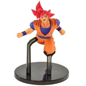 Son Goku Fes - Super Saian God Dragon Ball Super Banpresto