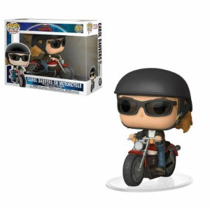 Carol Denver on Motorcycle - Marvel Captain Marvel Funko Pop Rides