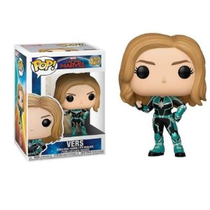 Vers - Marvel Captain Marvel Funko Pop