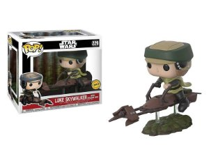 Princesa Leia - With Speeder Bike Star Wars Funko Pop Chase