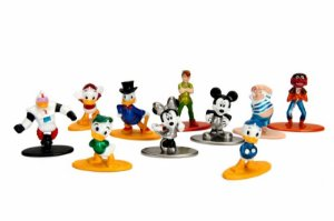 Kit Disney - Nano Metalfigs Diecast Metal Pack c/ 10 peças