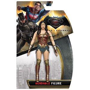 Wonder Woman - Mulher Maravilha Batman vs Superman Bendable Figure DC Collectibles