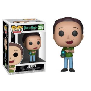 Jerry - Rick And Morty Funko Pop Animation