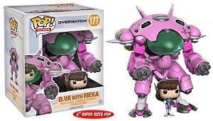 D.Va e Mech - Overwatch Super Sized Funko Pop Games
