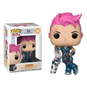 Zarya - Overwatch Funko Pop Games
