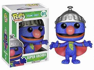 Super Grover - Sesame Street Vila Sésamo Funko Pop