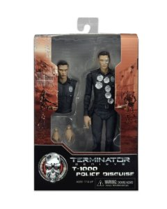 Terminator Genisys T-1000 Police Disguise Neca