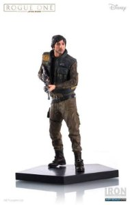 Cassian Andor - Star Wars Rogue One 1:10 Art Scale Iron Studios