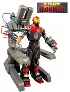 Ultimate Iron Man - Homem de Ferro Marvel Select