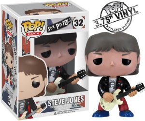 Steve Jones - Sex Pistols - Funko Pop Rocks