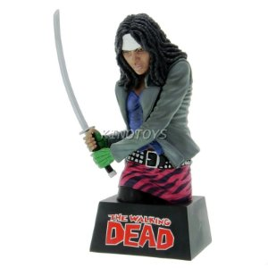 Michonne - Cofre Para Moedas The Walking Dead Diamond Select Toys