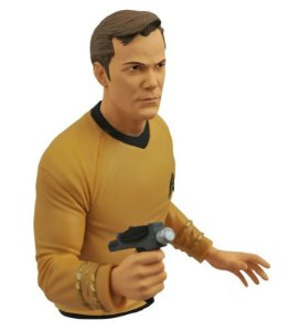 Cofre Capitão Kirk Star Trek Diamond Select Toys