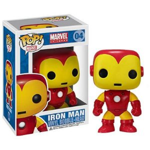 Homem de Ferro Clássico Funko Pop Marvel
