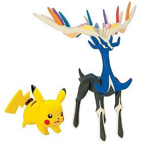 Pikachu + Xerneas Pokémon XY 2 - Tomy