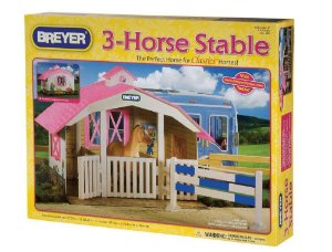 Estábulo - Horse Stable Breyer 1:32