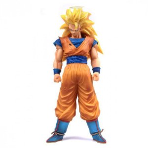 Goku Super Sayajin 3 - Dragon Ball Z Grandista Nero Banpresto