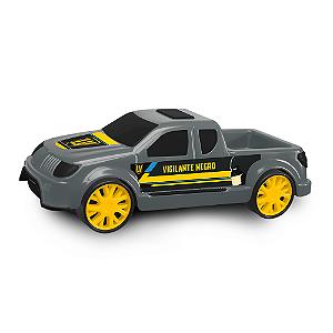 Carrinho Pickup Vigilante Negro