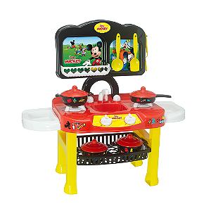 Cozinha Infantil Fogão Completo Disney Mickey