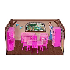 Casinha Boneca Mini Cozinha Princesas Disney