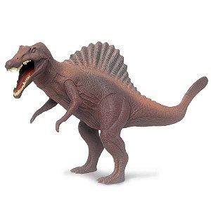 Dinossauro Espinossauro Jurassic Marrom