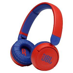 Headphone Infantil JBL JR310 Bluetooth com Microfone JBLJR310BTRED Vermelho - JBL