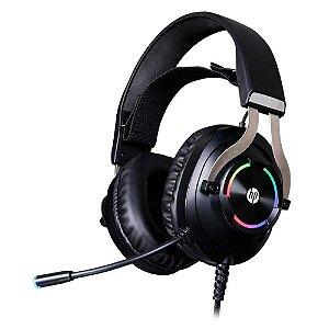 Headset Gamer HP P2 50mm Stéreo e Usb Com Rgb H360 Preto - HP