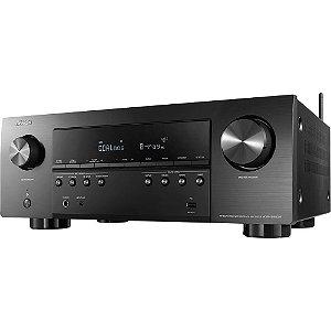 Receiver Denon AVR-S960H Modelo 2020 Dolby Atmos 90w Preto - Denon