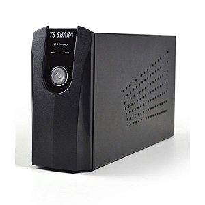 Nobreak Ts Shara 600Va/390W Compacto Grafite NT - Ts Shara