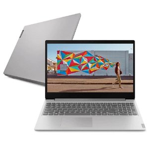 Notebook Ideapad S145 Ultrafino AMD Ryzen 8Gb 256Gb Wind 10 15,6pol Prata - Lenovo