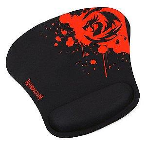 Mousepad Gamer Libra Speed 250x250mm Com Apoio de Pulso P020 - Redragon