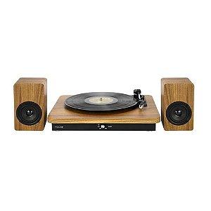 Vitrola Retrô Pulse Sinatra SP366 com Bluetooth V2.1 - Multilaser