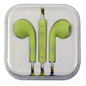 Fone de Ouvido Oex Colormood Intra-Auricular FN204 Verde Candy - Oex