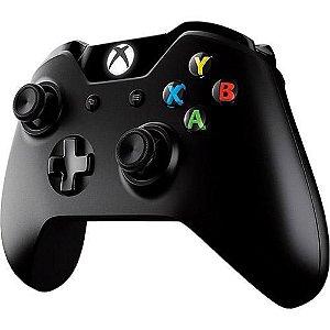 Controle Sem Fio Xbox One Preto - Microsoft