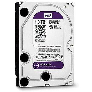 HD Interno WD Purple 1TB SATA III 6GB/s 5400 RPM WD10PURZ - Western Digital