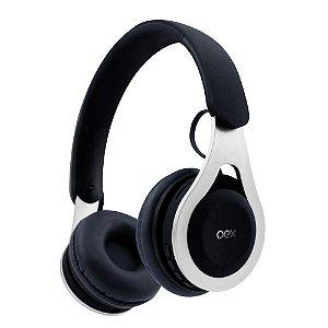 Headset Oex Drop Bluetooth HS306 Preto com Branco - Oex