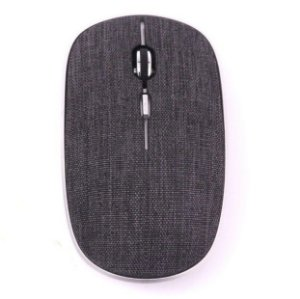 Mouse Oex Twill Sem Fio Bluetooth Em Tecido MS600 Preto - Oex