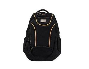 Mochila para Notebook Backpack Sport BK102 Preto com Laranja - Oex