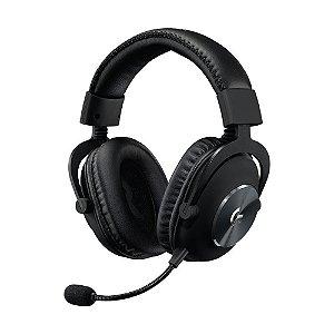 Headset Gamer Logitech G PRO Com Microfone e Drivers PRO-G 50mm 981-000811 Preto - Logitech