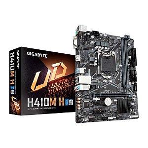 Placa Mãe Gigabyte H410M H Intel 10 Geração Socket 1200 - Gigabyte
